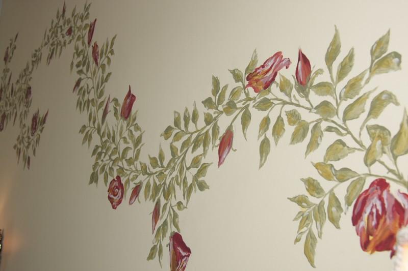 Rosensviten - Dekaorationsmålning