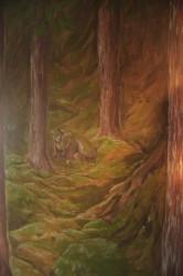 Bergakungenssal - Väggmålning