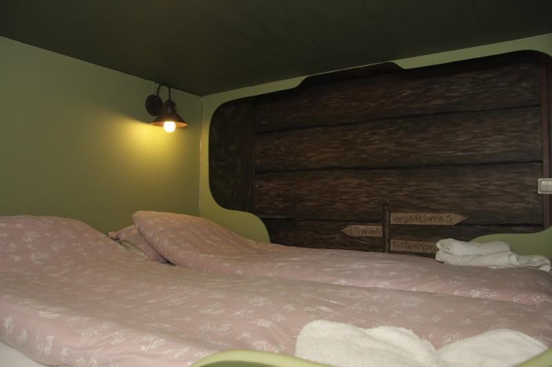 Bergakungenssal - Säng