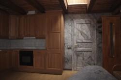 Bergakungenssal - Kök