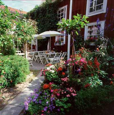 Café Garvaregården - Trädgård