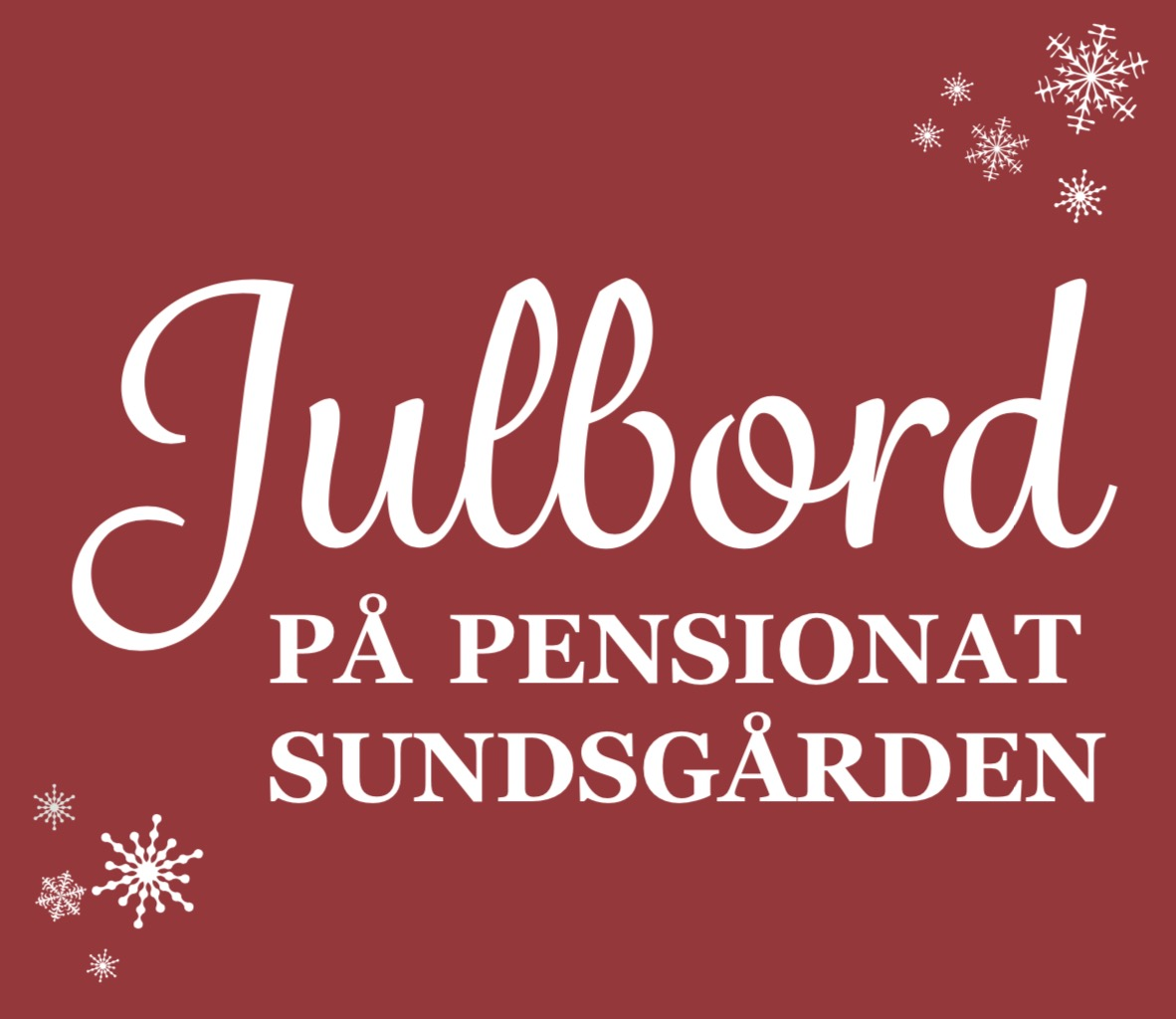 Julbord på Pensionat Sundsgården